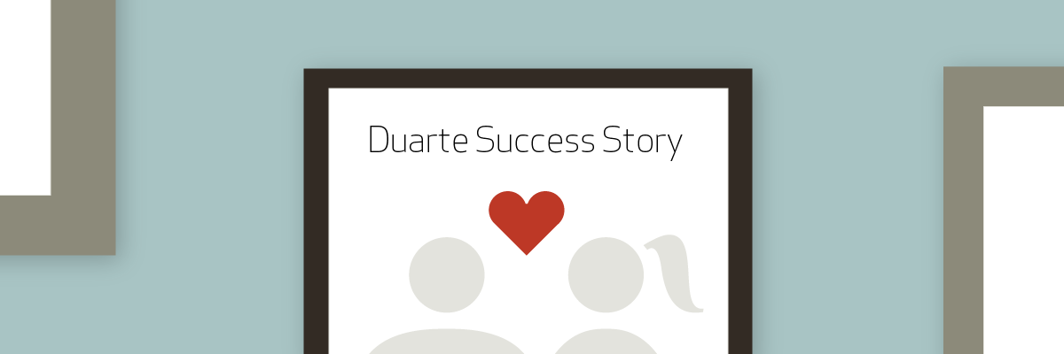 How My Wife Created A Powerful Professional Poster - Duarte Success Story