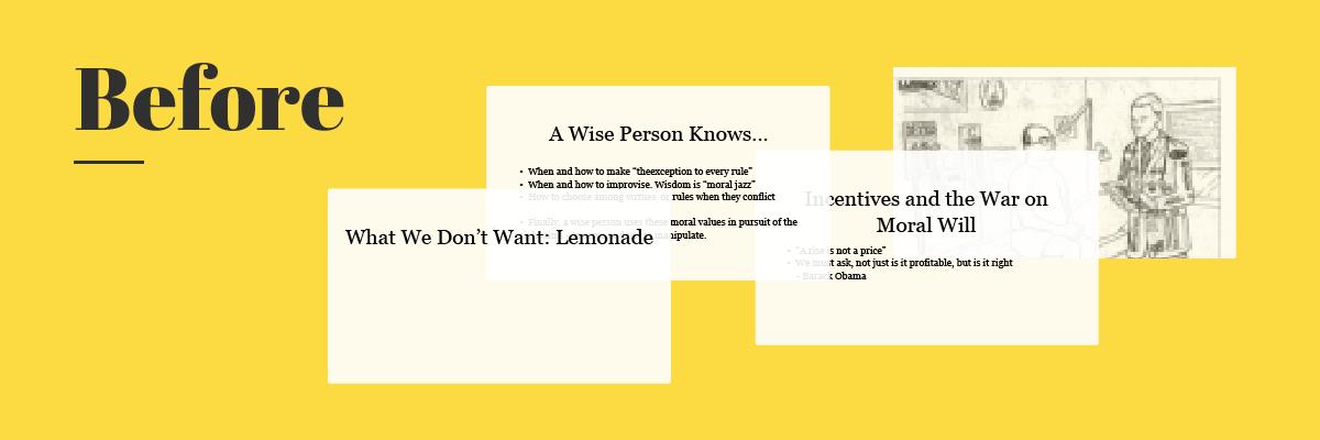5 simple tweaks you can make for killer ted talk slides