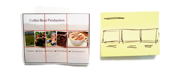 Printed Slide vs. Sticky Note