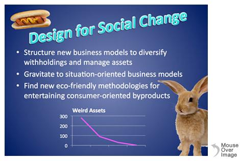 Presentation slide for Social Change