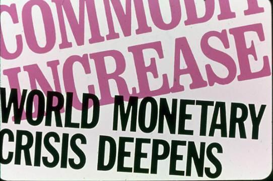 presentation slide - world monetary crisis deepens