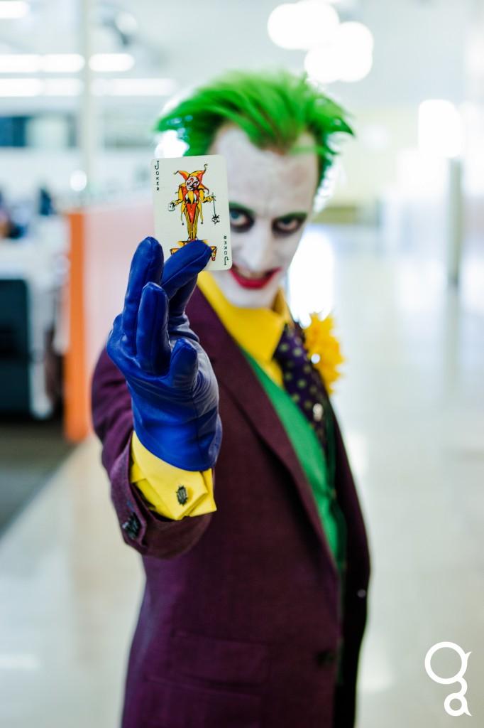 dan the joker halloween 2013