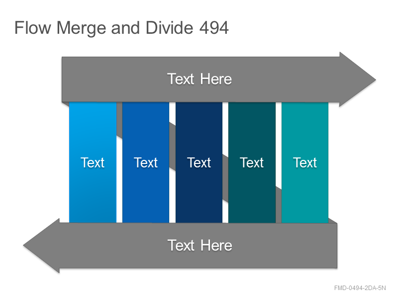 Flow Merge and Divide 494