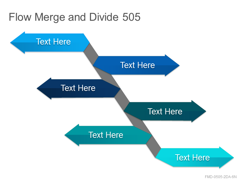 Flow Merge and Divide 505
