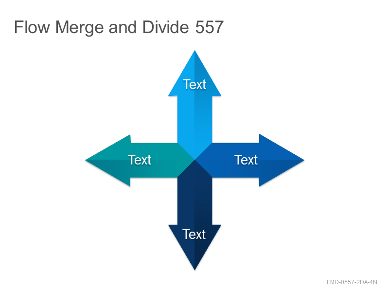 Flow Merge and Divide 557