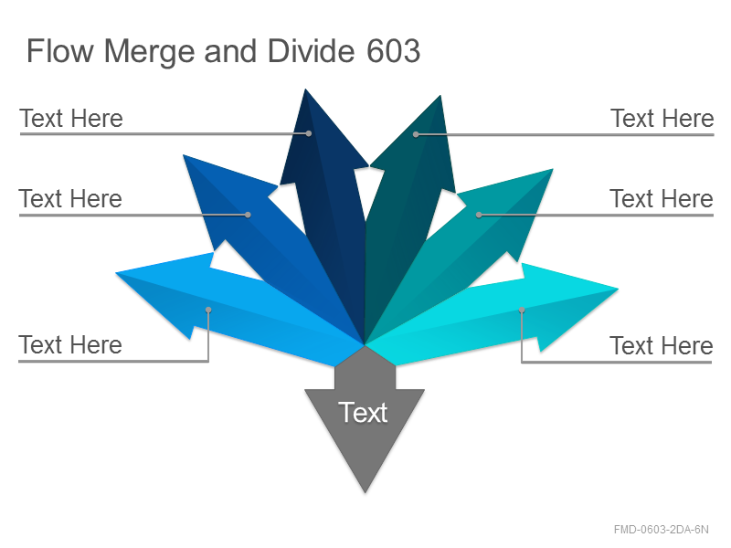 Flow Merge and Divide 603