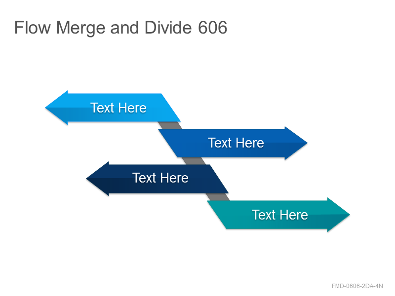 Flow Merge and Divide 606