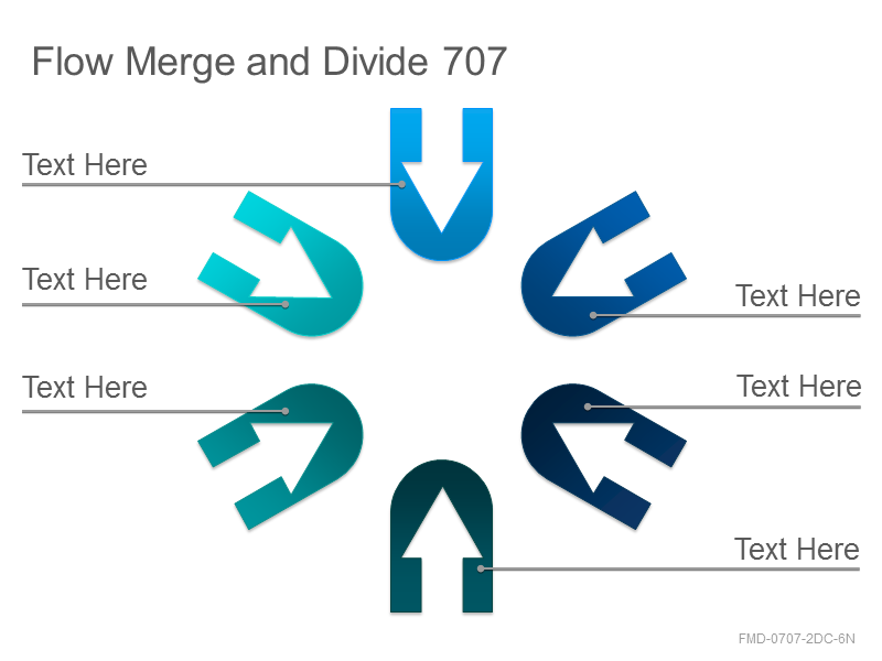 Flow Merge and Divide 707
