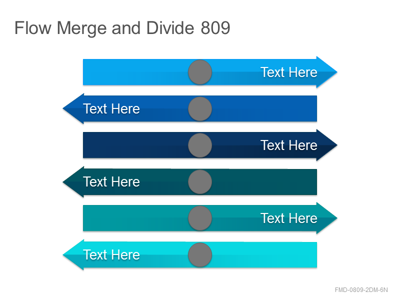 Flow Merge and Divide 809