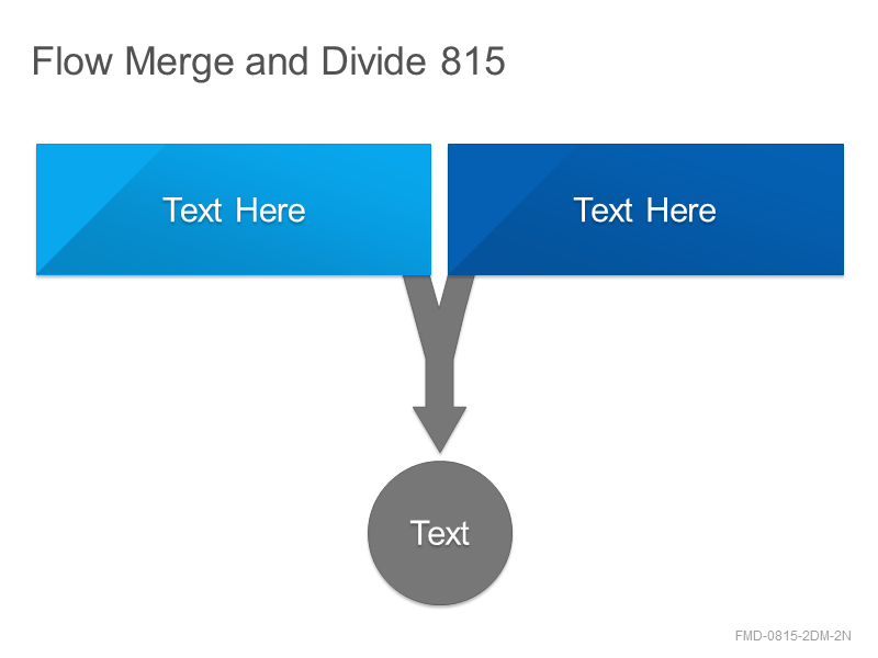 Flow Merge and Divide 815