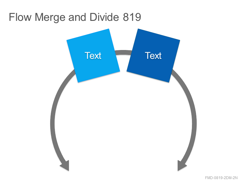 Flow Merge and Divide 819