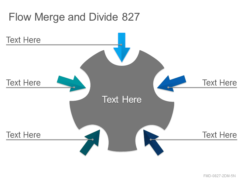 Flow Merge and Divide 827
