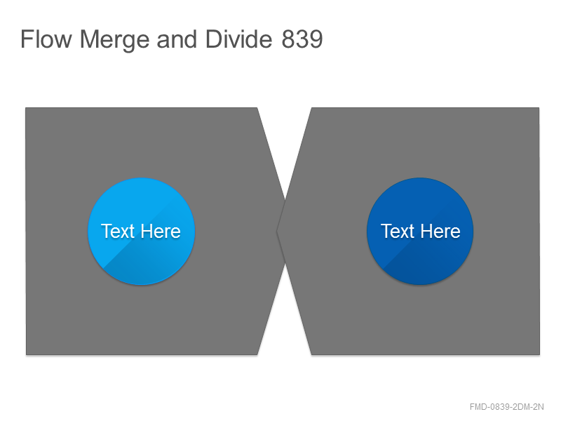 Flow Merge and Divide 839