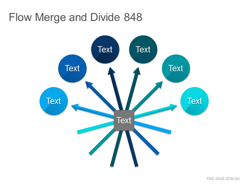 Flow Merge and Divide 848