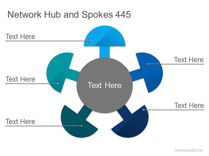 Network Hub & Spokes 445