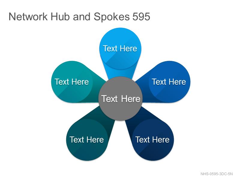 Network Hub & Spokes 595