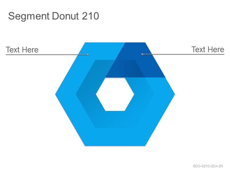 Segment Donut 210