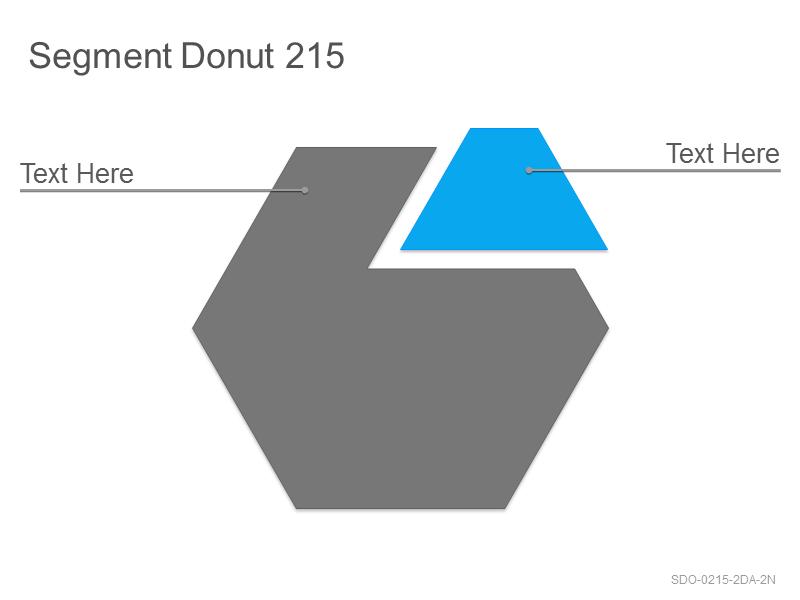 Segment Donut 215