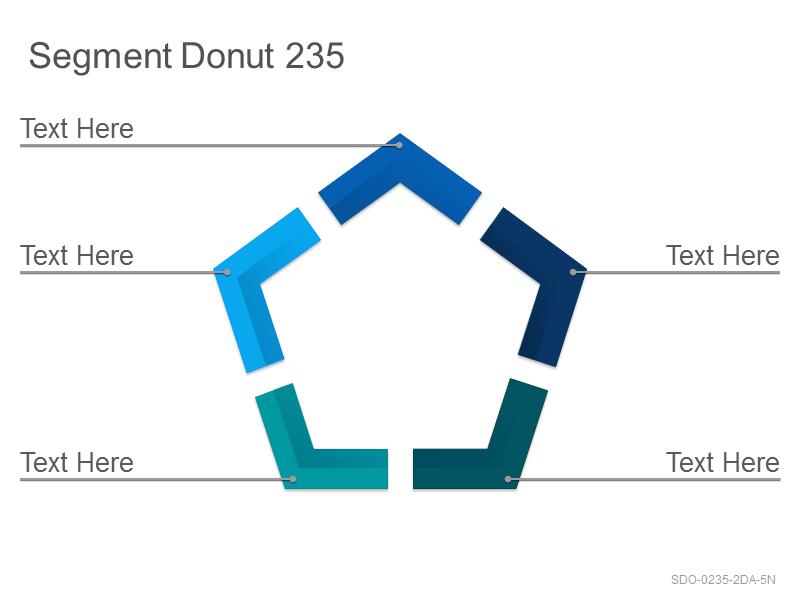 Segment Donut 235