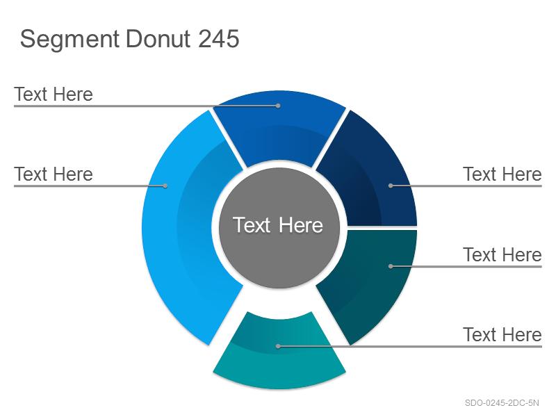 Segment Donut 245