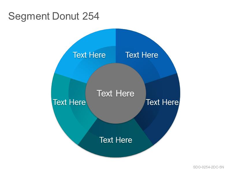 Segment Donut 254