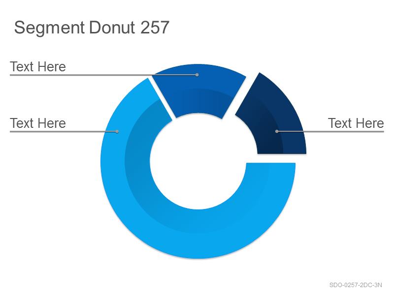 Segment Donut 257