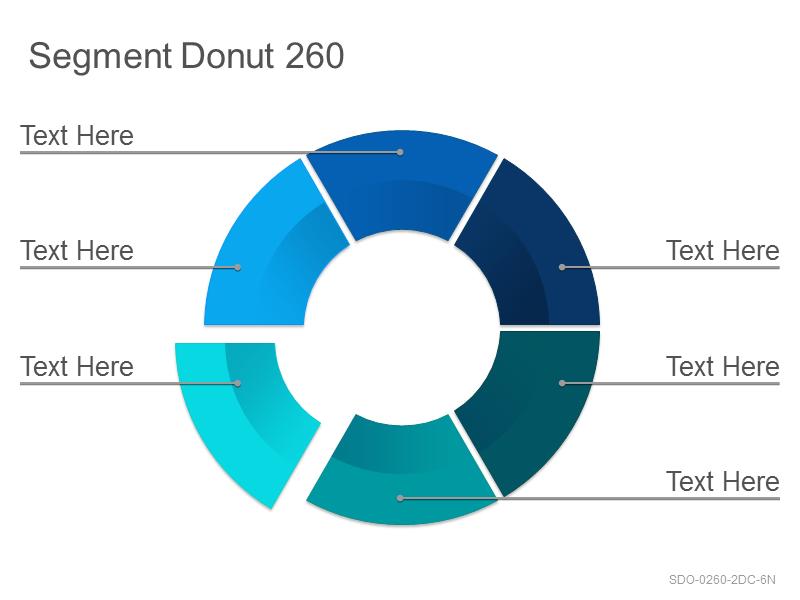 Segment Donut 260