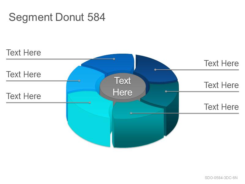 Segment Donut 584