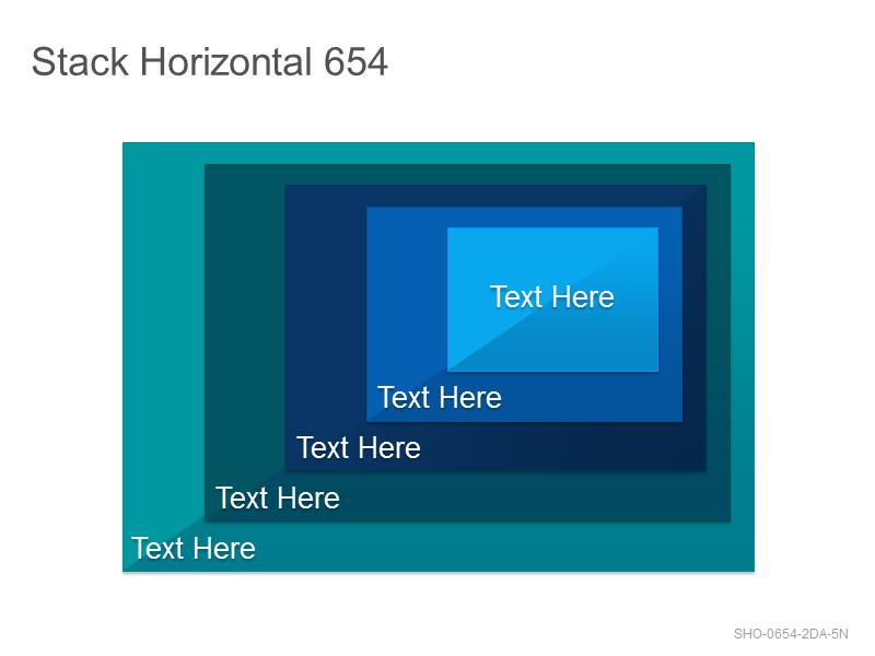 Stack Horizontal 654