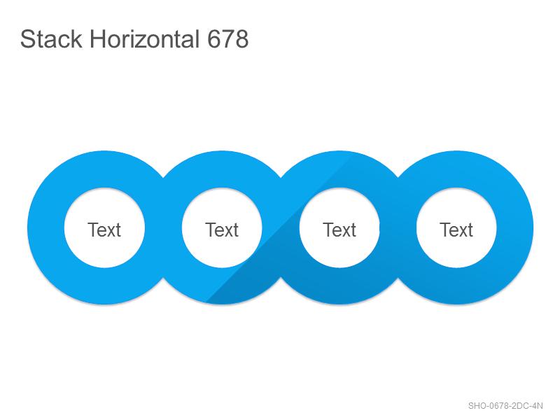 Stack Horizontal 678