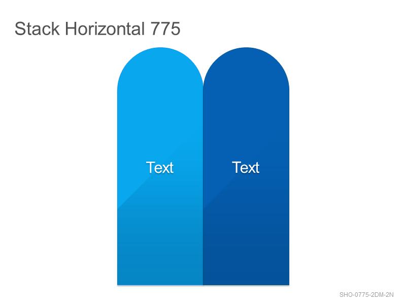 Stack Horizontal 775