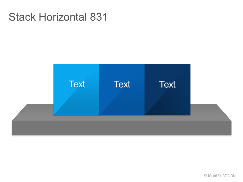 Stack Horizontal 831