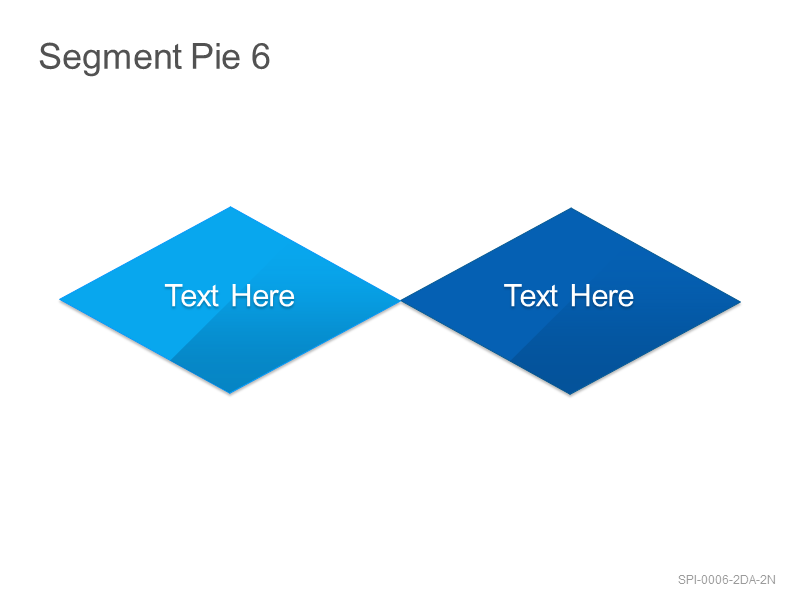 Segment Pie 6