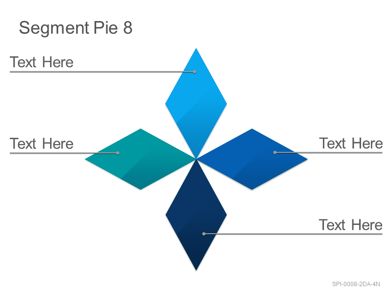 Segment Pie 8