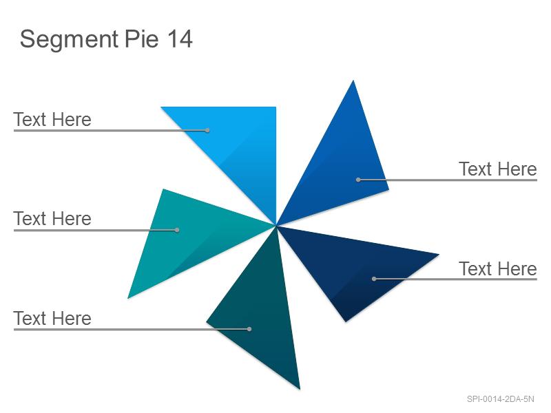Segment Pie 14