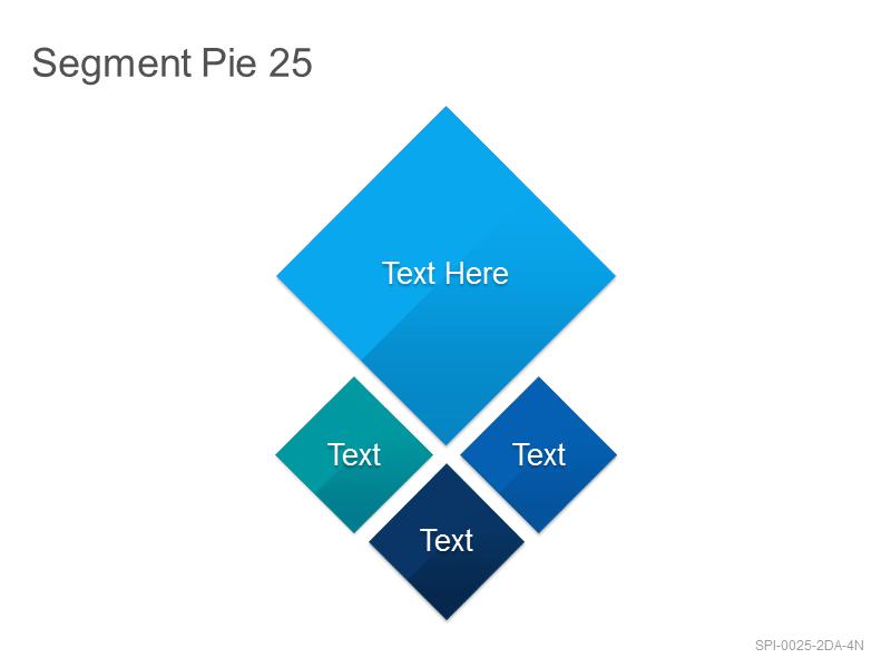 Segment Pie 25