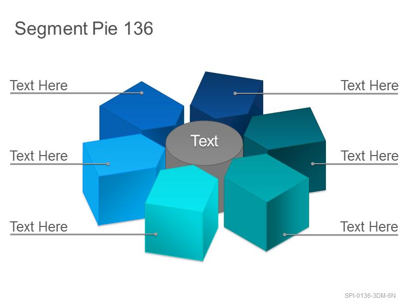 Segment Pie 136