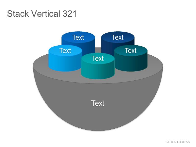 Stack Vertical 321