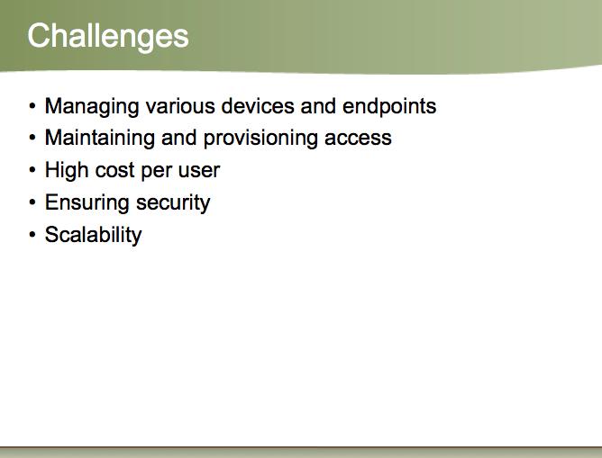 improved presentation slide