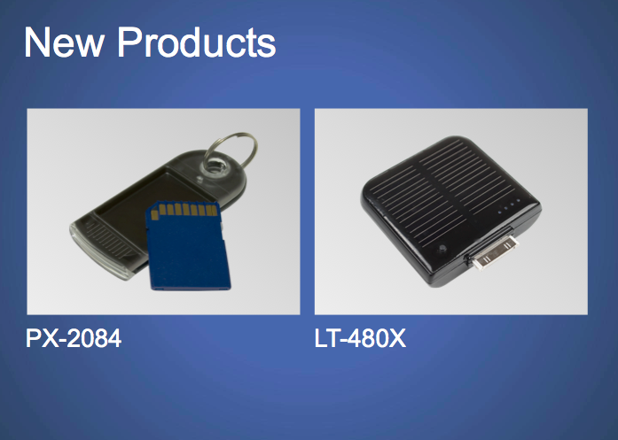 clean slide design example