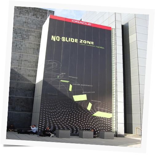 No Slide Zone