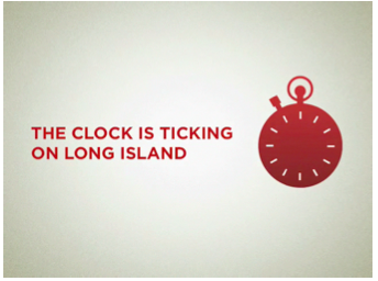 The clock is ticking on Long Island