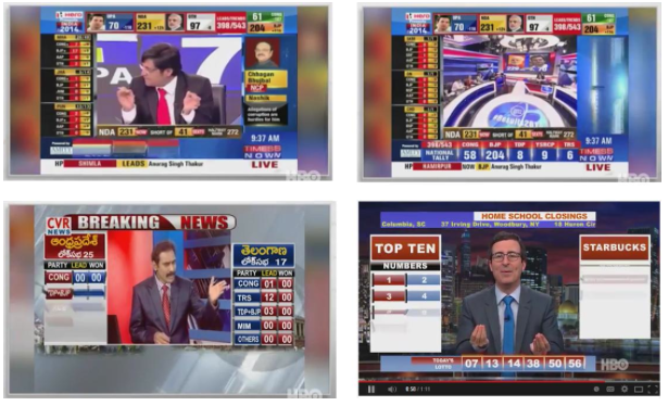 TV coverage India's election