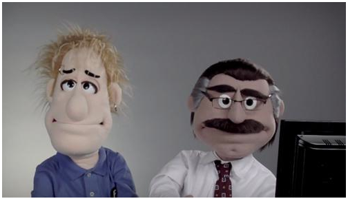 presentation teaching puppets