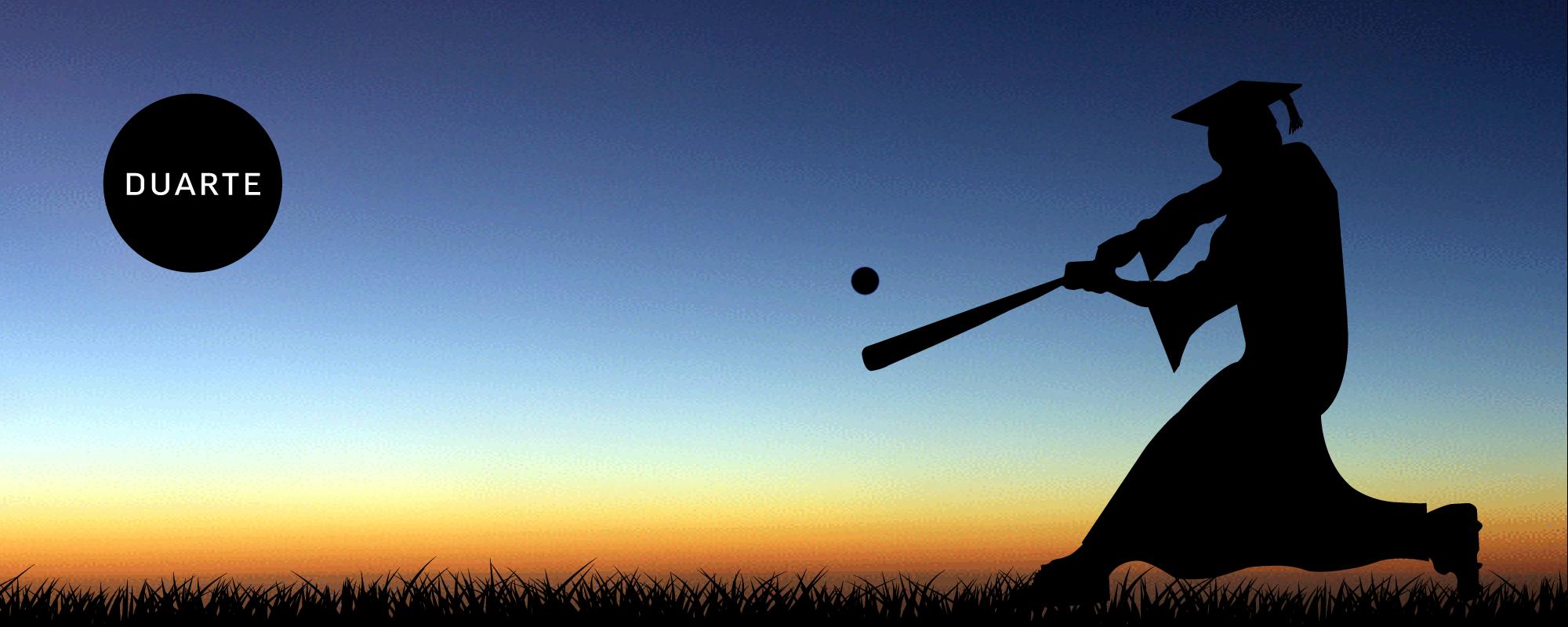Grad-hitting-ball