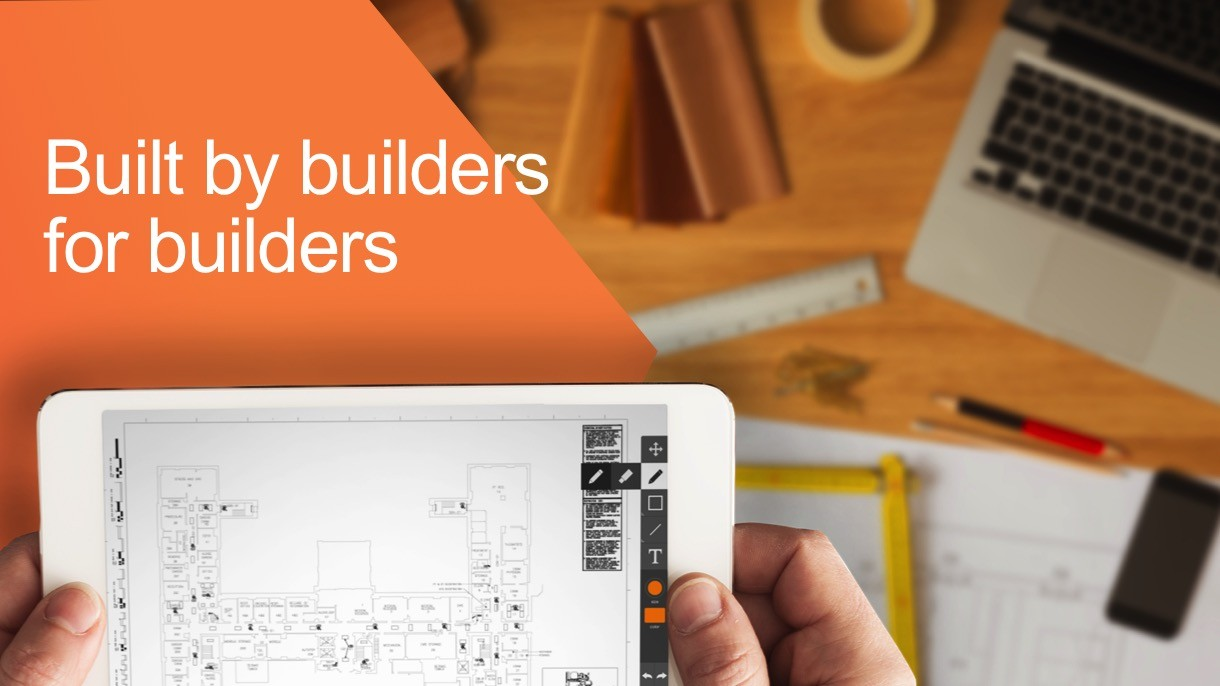 Procore Case Study Slide: built by builders for builders