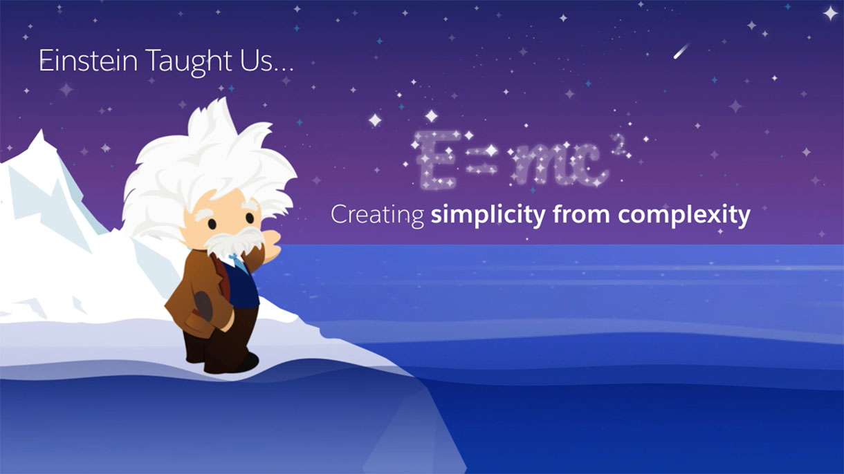 Salesforce Slide: Creating Simplicity from Complexity