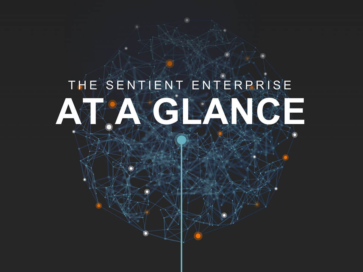 Teradata Slide: The Sentient Enterprise At A Glance