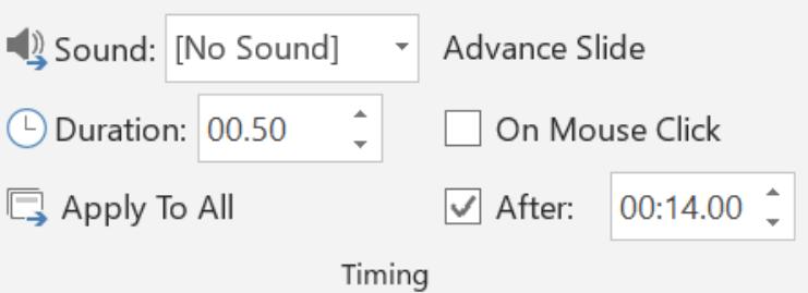 PowerPoint Create a Video dialog box