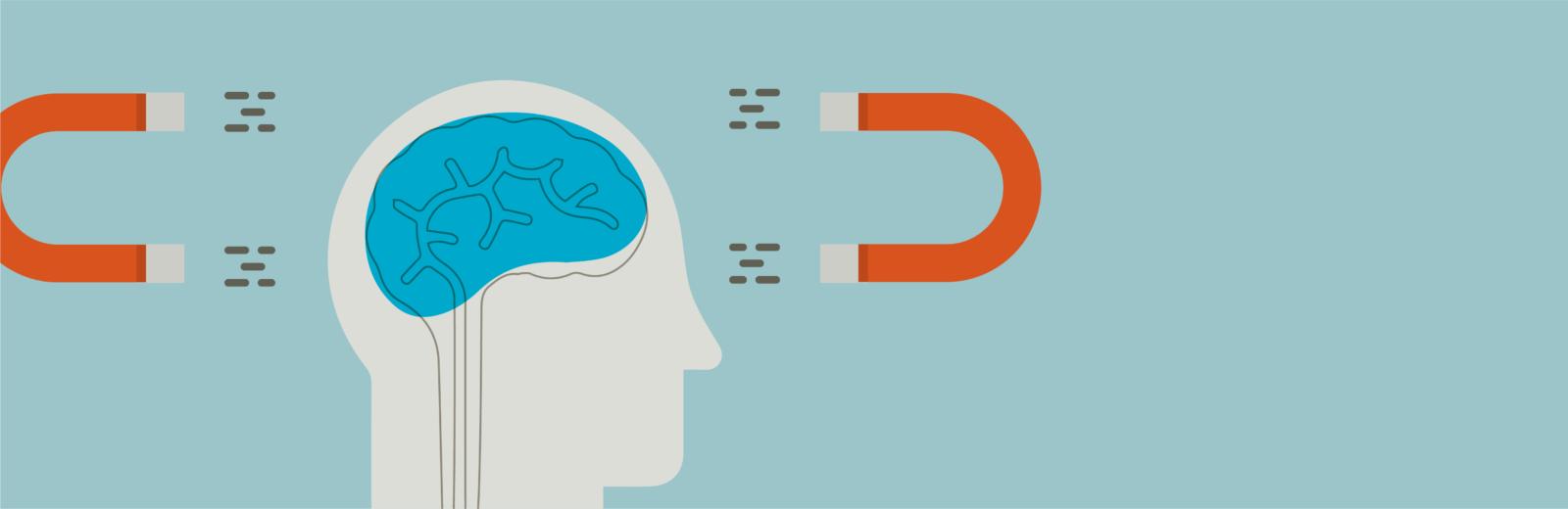 Slide Design - Illustration of Magnets on side of human head